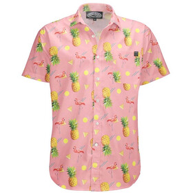 Loose Riders C/S SS Shirt Men, pineapple peach